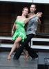 ... die Tänzer den Tanzboden ausprobieren konnten.